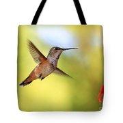 Proud Hummingbird Tote Bag