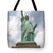 Proudly She Stands Tote Bag