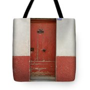 Provence Door 13 Tote Bag