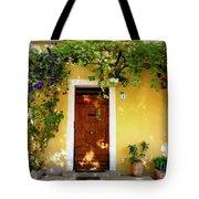 Provence Door Number 1 Tote Bag