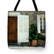 Provence Door Number 4 Tote Bag