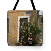 Provence Door Number 9 Tote Bag