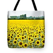 Provencial Sunflowers Tote Bag