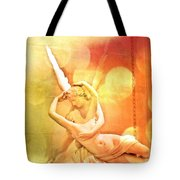 Psyche Revived By Cupid's Kiss Tote Bag