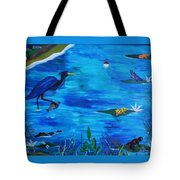 Psychedelic Bayou Tote Bag
