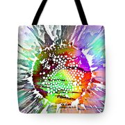 Psychedelic Daisy 2 Tote Bag