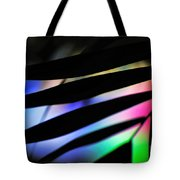 Psychedelic Palm Abstract Tote Bag