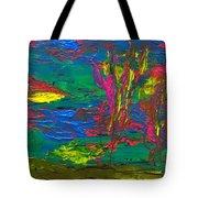 Psychedelic Sea Tote Bag