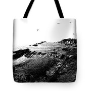 Pt Arena Lighthouse With Effect Tote Bag