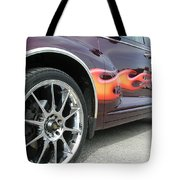 Pt With Flames Tote Bag
