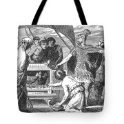 Publius Claudius Pulcher And The Sacred Tote Bag by Photo Researchers