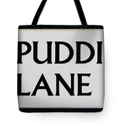 Pudding Lane Tote Bag