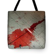 Puddle Of Red Wine On The Floor Tote Bag