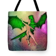 Puff The Magic Dragon Tote Bag