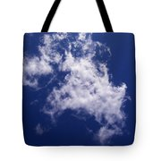Pulled Cotton Clouds Tote Bag