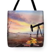 Pumping For Gold Tote Bag