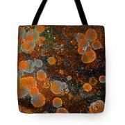 Pumpkin Abstract Tote Bag