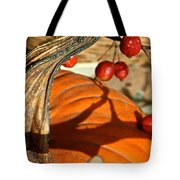 Pumpkin Berries Tote Bag