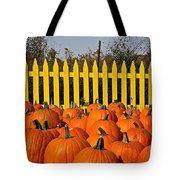 Pumpkin Corral Tote Bag