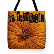 Pumpkin Holiday Tote Bag