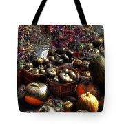 Pumpkin Impressions Tote Bag