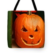 Pumpkin Man Tote Bag