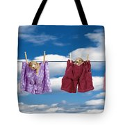 Puppies Hanging Out Tote Bag