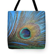Purdy As A Peacock Tote Bag