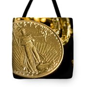 Pure As Gold Tote Bag