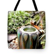 Purification Basin For Tea Ceremony Tote Bag