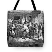 Puritans And Quakers, 1677 Tote Bag