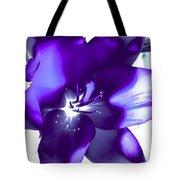 Purple Blast Tote Bag