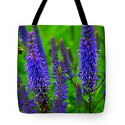Purple Blue Yellow Green Tote Bag