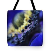 Purple Bulb Flower Tote Bag