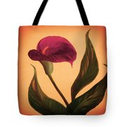 Purple Calla Lily - Square Painting Tote Bag