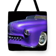 Purple Customized Tote Bag