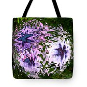 Purple Daisies World - Abstract Art Tote Bag