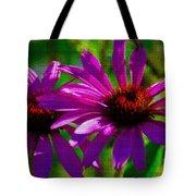 Purple Daisy's Tote Bag