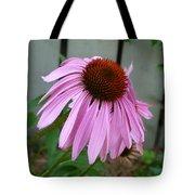 Purple Echinacea Tote Bag
