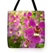 Purple Field Tote Bag