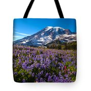 Purple Fields Forever Tote Bag