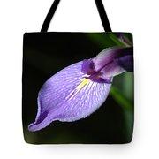 Japanese Iris Petal Tote Bag