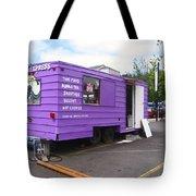 Purple Food Truck Tote Bag