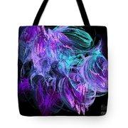 Purple Fusion Tote Bag