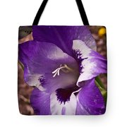 Purple Gladolia Tote Bag