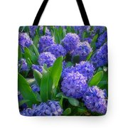 Purple Hyacinths Tote Bag