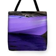Purple Kayak Tote Bag