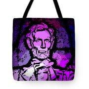 Purple Lincoln Tote Bag