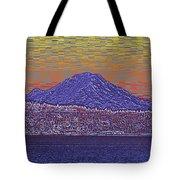 Purple Mountain Majesty Sunset Tote Bag