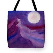 Purple Night 2 Tote Bag